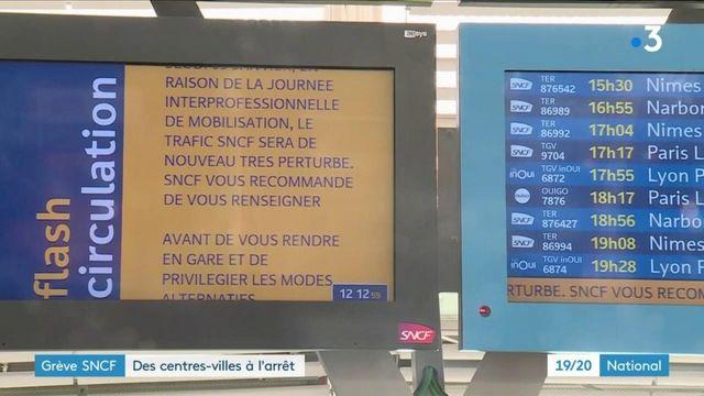 Grève à la SNCF : les commerces dans les gares à l'arrêt