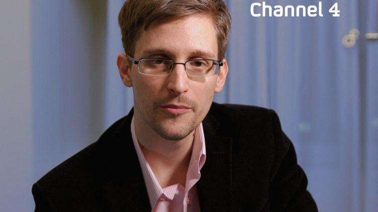 Edward Snowden, le 24 décembre 2013, sur Channel 4. (CHANNEL 4 / CHANNEL 4)