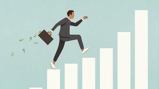 L'indice du salaire mensuel de base a augmenté d'1,4% entre juin 2020 et juin 202. (Illustration) (MALTE MUELLER / FSTOP / GETTY IMAGES)