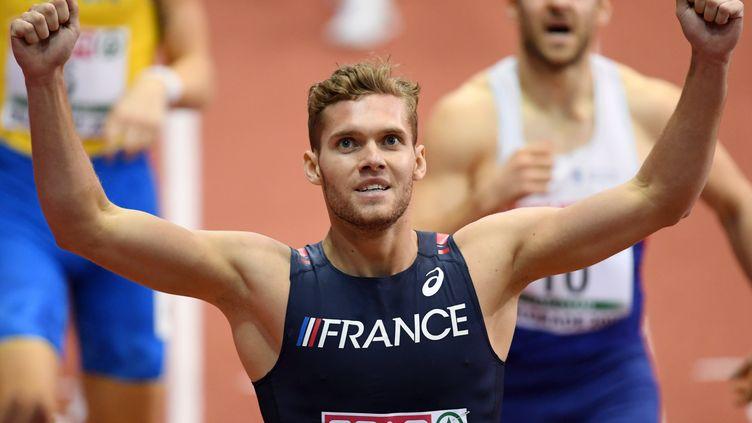 Kevin Mayer, champion d'Europe en salle d'heptathlon (PHILIPPE MILLEREAU / DPPI MEDIA)