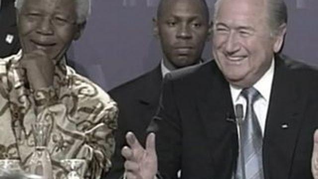 Sepp Blatter, le controversé président de la FIFA