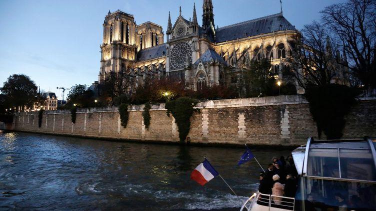 (Notre-Dame de Paris et la Seine. © Maxppp)