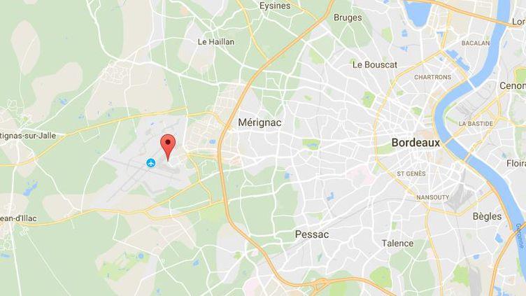 Il s'agit de la plus grosse saisie de cocaïne à l'aéroport de Bordeaux-Mérignac depuis 2010 (CAPTURE D'ECRAN GOOGLE MAPS)