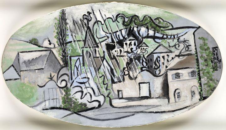 """Pablo Picasso, """"Boisgeloup sous la pluie"""", Boisgeloup, 30 mars 1932, Muséenational Picasso-Paris, dation Pablo Picasso, 1979  (Succession Picasso  2017 - © RMN-Grand Palais (Musée national  Picasso-Paris) / Mathieu Rabeau)"""