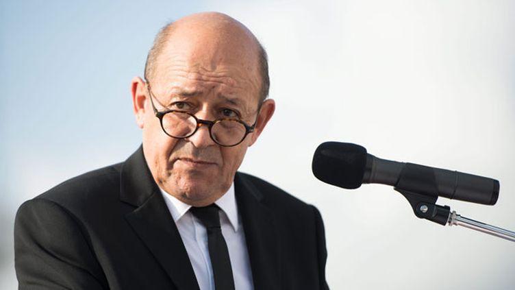 (Jean-Yves Le Drian a dévoilé les restructurations qui vont toucher l'armée en 2015 dans le cadre de la LPM 2014-2019. © Maxppp)