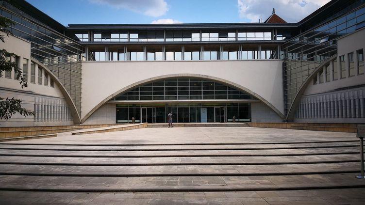 Tribunal de Besançon. Photo d'illustration. (NINA VALETTE / RADIO FRANCE)