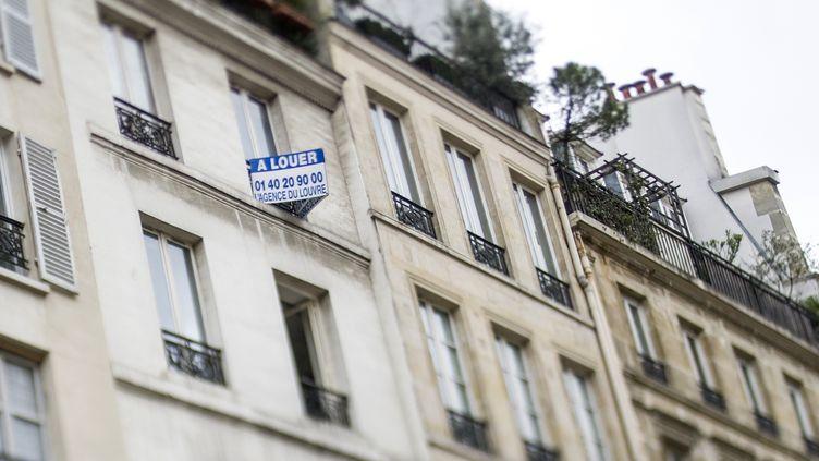 Les loyers parisiens seront encadrés à partir du 1er août 2015. (FRED DUFOUR / AFP)