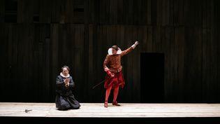 Une représentation du Cid, au théâtre Gérard Philipe de Saint-Denis, le 10 octobre 2007.   (MAXPPP)