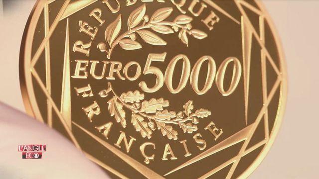 """VIDEO. """"L'Angle éco"""". Ici, on fabrique des pièces de 5 000 euros"""