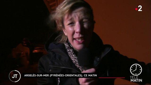 Tempête Gloria : l'Aude et les Pyrénées-Orientales placés en vigilance orange