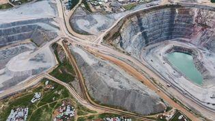 La mine de Nord Mara, en Tanzanie. (FRANCE 2)