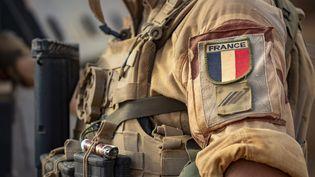 Un soldat de l'opération Barkhane, en septembre 2021 (SPEICH FR?D?RIC / MAXPPP)