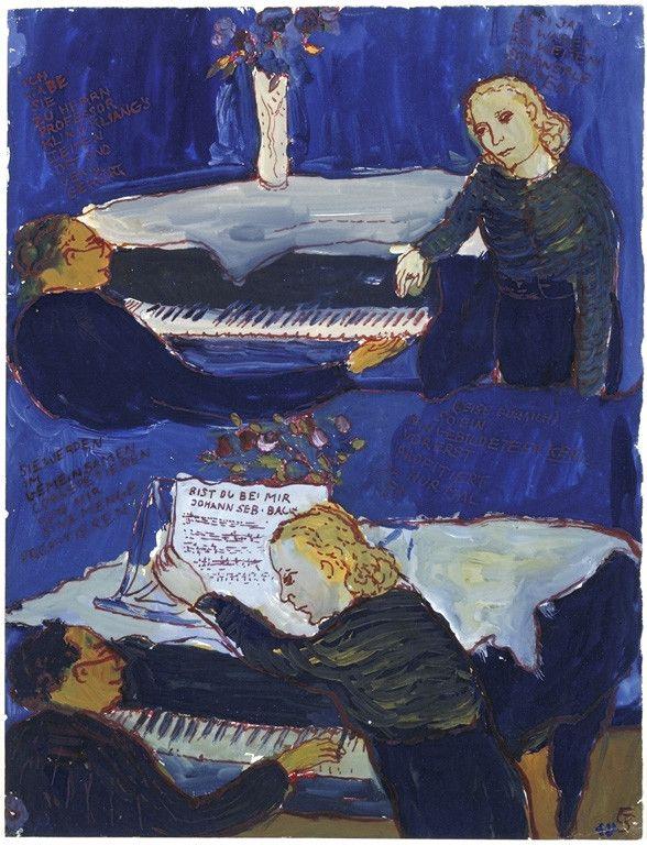 (Charlotte Salomon, Musée d'art et d'histoire du judaïsme)