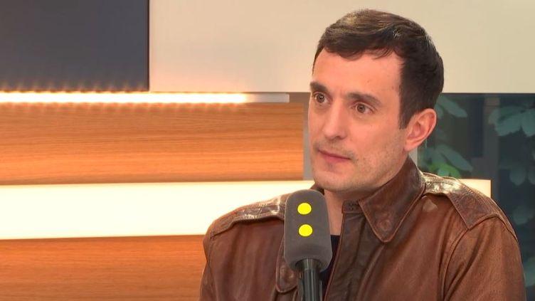 Severin Naudet est le directeur général de Wework France (RADIO FRANCE)