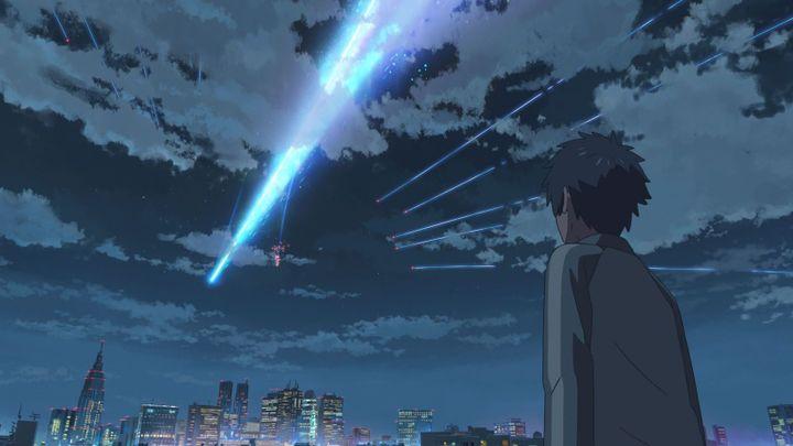 Your Name de Makoto Shinkai  (2016 TOHO CO., LTD. / CoMix Wave Films Inc. / KADOKAWA CORPORATION / East Japan Marketing & Communications,Inc. / AMUSE INC. / voque ting co.,ltd. / Lawson HMV Entertainment, Inc)