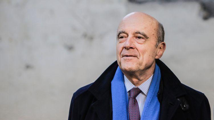 Alain Juppé, le 3 février 2017, à Bordeaux (Gironde). (MAXPPP)