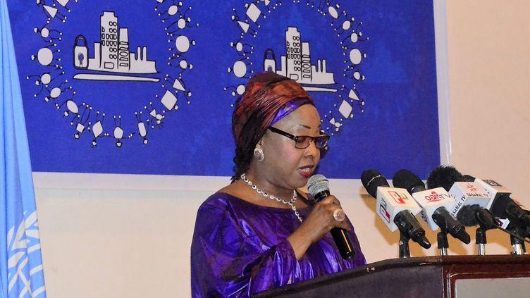 La nouvelel secrétaire générale de la Fifa, Fatma Samoura