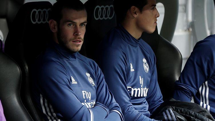 Gareth Bale et James Rodriguez, les deux joueurs du Real Madrid (BURAK AKBULUT / ANADOLU AGENCY)