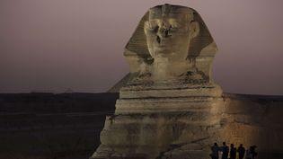 La pyramide du Sphinx en Egypte, 2014  (Hiro Komae/AP/SIPA)