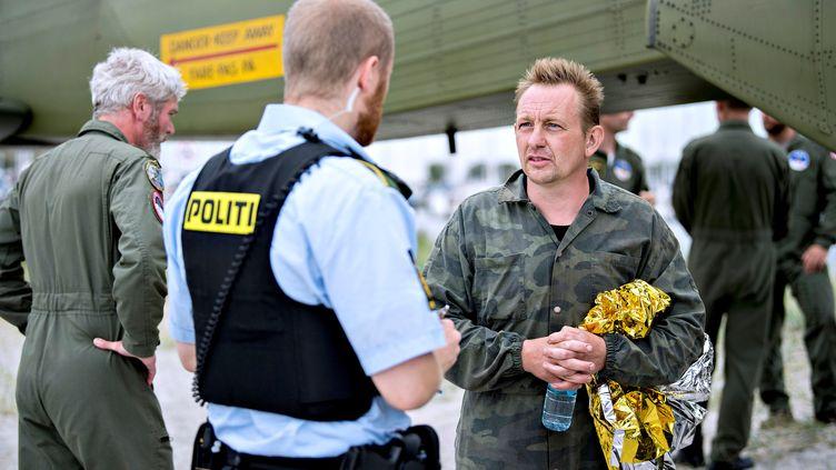 L'inventeur danois Peter Madsen, dans le port de Dragor, près deCopenhague (Danemark), le 11 août 2017. (SCANPIX DENMARK / REUTERS)