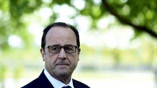 Le président français, François Hollande, lors du sommet européen à Riga (Lettonie), le 22 mai 2015. (ALAIN JOCARD / AFP)