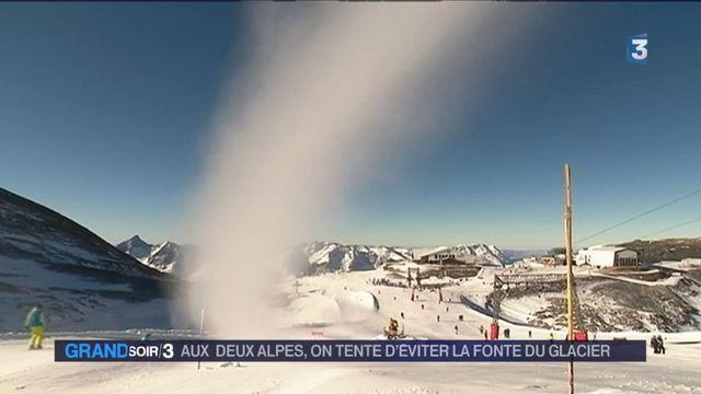Isère : comment la station des Deux-Alpes fait reculer la fonte du glacier