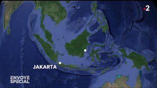 Jakarta, capitale de l'Indonésie menacée par les eaux, se prépare à déménager (ENVOYÉ SPÉCIAL  / FRANCE 2)