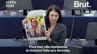 VIDEO. Violences sexistes : coup de gueule d'une députée au Parlement européen (BRUT)