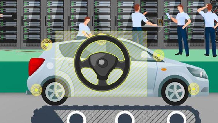 Pour minorer les émissions polluantes de ses moteurs, Volkswagen a mis au point un logiciel qui détecte quand la voiture est en test (FRANCEINFO)