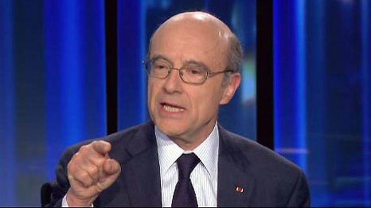 Alain Juppé, chef de la diplomatie française (archives) (F2)