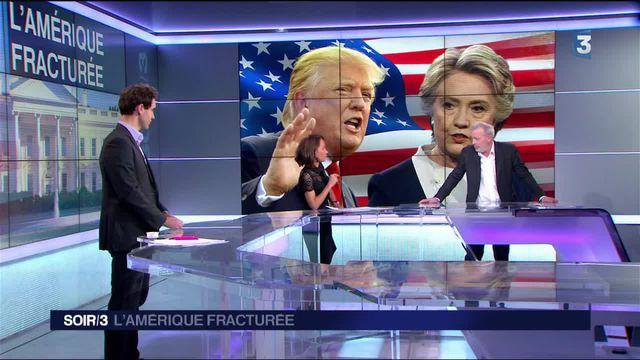 """États-Unis : la """"catastrophe Trump"""" face à la """"corruption Clinton"""""""