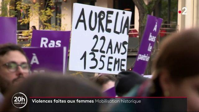 Violences faites aux femmes : mobilisation historique à Paris