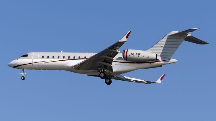 Le jet immatriculé TC-TSR qui a permis à Carlos Ghosn de quitter le Japon pour le Liban en passant par la Turquie, entre le 29 et le 30 décembre 2019. (REUTERS)
