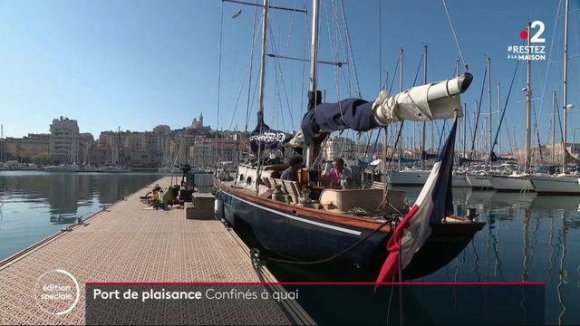 Coronavirus : à Marseille, les bateaux restent à quai