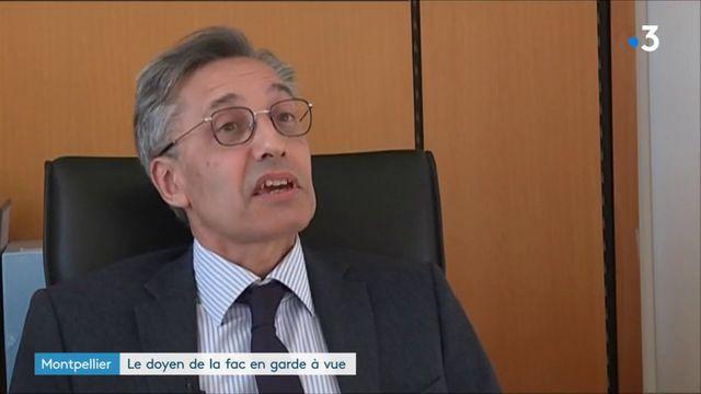 Montpellier : le doyen de la faculté en garde à vue