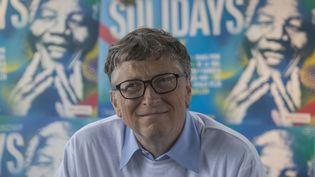 Le fondateur de Microsoft et milliardaire philanthrope Bill Gates au festival Solidays à Paris, le 27 juin 2014. (CITIZENSIDE / CAROLINE PAUX / AFP)