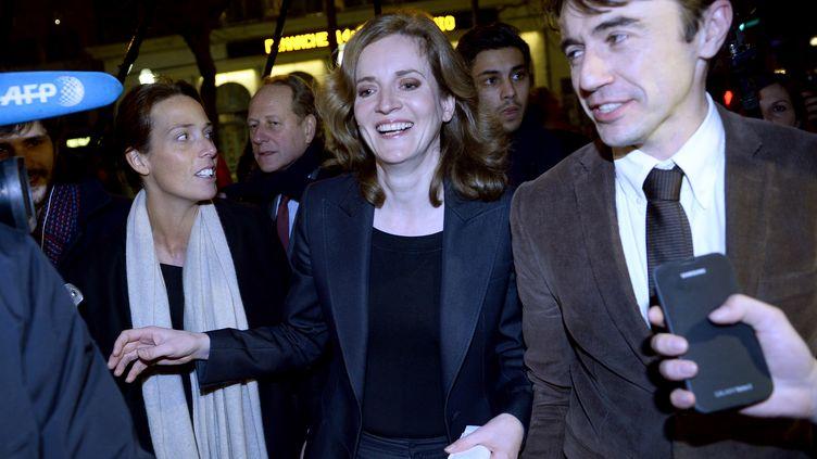 La candidate UMP Nathalie Kosciusko-Morizet, le 23 mars 2014 à Paris. (ERIC FEFERBERG / AFP)
