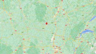 Desviolences ont éclaté dans la nuit du 24 au 25 septembre2021 à Montceau-les-Mines (Saône-et-Loire). (GOOGLE MAPS)