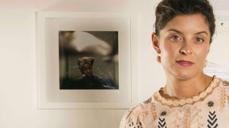 """Jessie Burton, auteure de """"Les filles au lion"""" (Gallimard)  (Richard Saker/REX/Shutterstock/ SIPA)"""