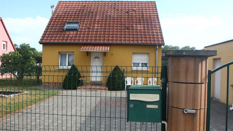Ledomicile de la famille de Sophie Le Tan, 19 ans, disparue à Schiltigheim (Bas-Rhin) le 7 septembre 2018. (VINCENT VOEGTLIN / MAXPPP)