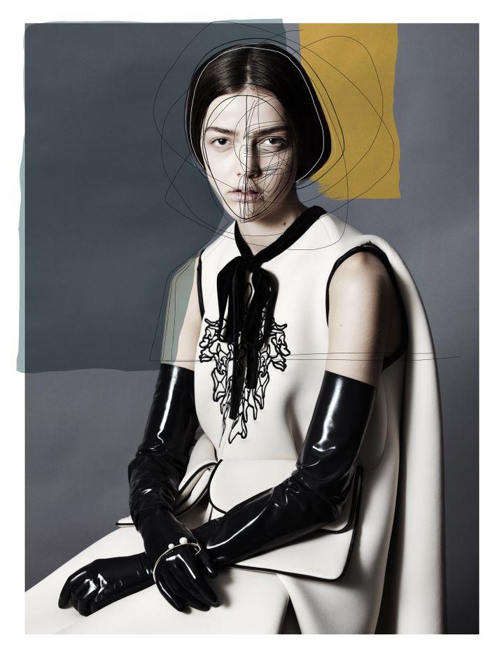 """Exposition """"Les Belges, une histoire de mode inattendue"""" : Damien Ravn  (Lea Nielsen)"""