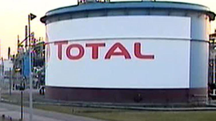 Sur le site de la raffinerie Total à Dunkerque (France 2)