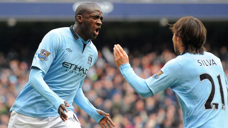 Yaya Touré et David Silva (Manchester City)