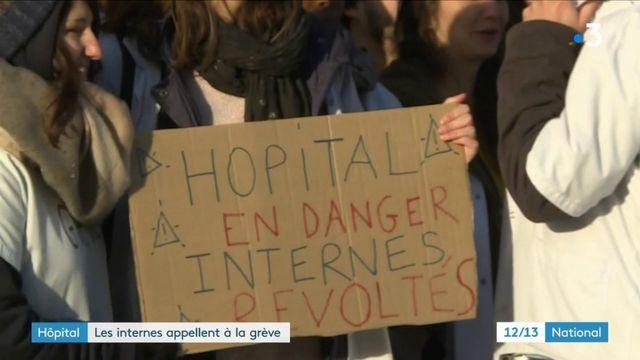 Hôpital : les internes appellent à la grève