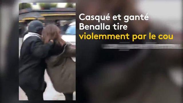 Des coups assénés sur un manifestant et qui plongent la présidence de la République dans la tourmente. Une vidéo montrant un collaborateur d'Emmanuel Macron frappant un manifestant le 1er-Mai, qui a déclenché, jeudi 19 juillet, l'ouverture d'une enquête préliminaire pour violences et usurpation de fonction.  Sur ces images, filmée par un manifestant place de la Contrescarpe à Paris, un homme, identifié comme Alexandre Benalla, coiffé d'un casque à visière des forces de l'ordre, s'en prend à une jeune femme puis un jeune homme à terre. Il le frappe avec sa main gantée et le met à terre. Une scène qui se déroule sous les yeux des CRS, qui n'interviennent pas.