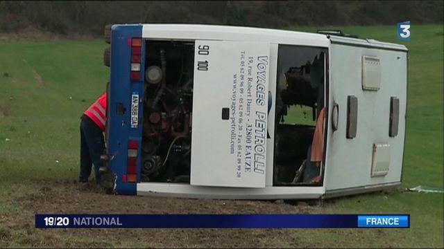 Gers : Un accident entre un bus scolaire et une voiture fait 27 blessés