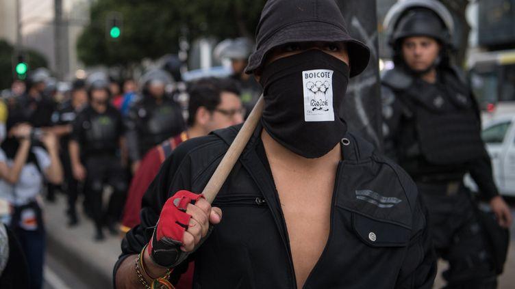 Le peuple brésilien a appelé au boycott des JO (CHRISTOPHE SIMON / AFP)
