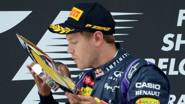 Sebastian Vettel vainqueur du GP de Belgique (JOHN THYS / AFP)