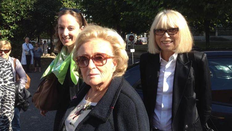 (Bernadette Chirac était à l'hôpital Charles Foix d'Ivry (Val-de-Marne) ce mercredi  © RF/Nathalie Bourrus)