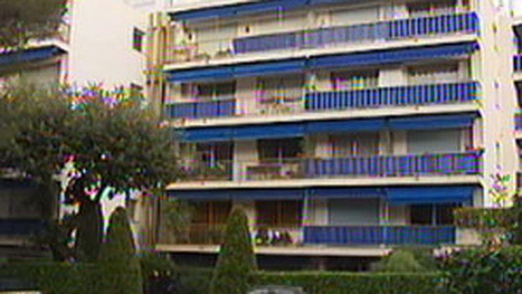 Immeuble de Roquebrune-Cap-Martin où le déséquilibré a poignardé 3 personnes